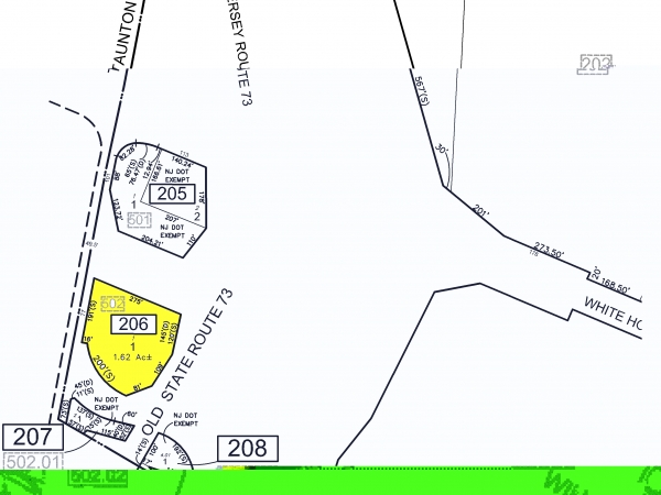 Listing Image #1 - Land for sale at 77 Taunton Rd, Atco NJ 08004