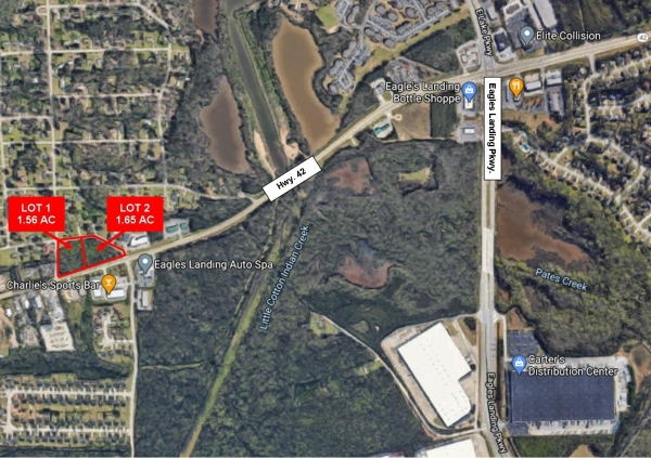 Listing Image #1 - Land for sale at Wilson Road & Highland Drive, Stockbridge GA 30281