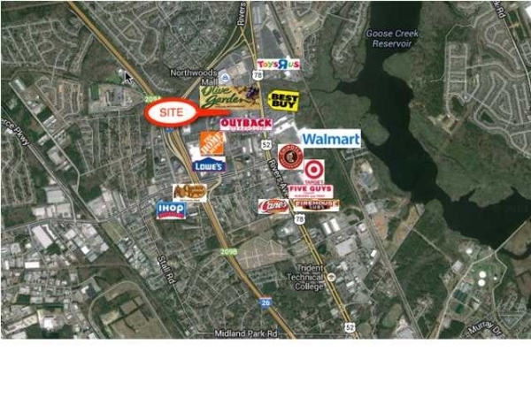 Listing Image #1 - Retail for sale at Northwoods Blvd, North Charleston SC 29406