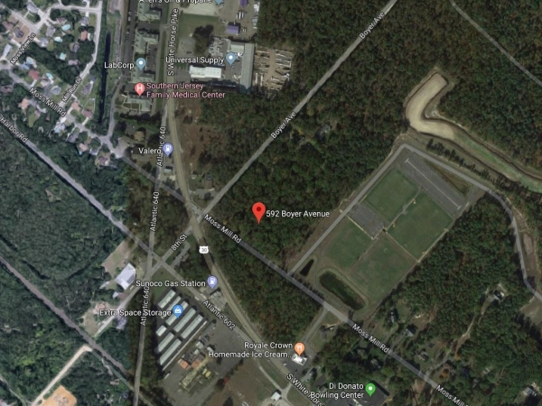 Listing Image #1 - Land for sale at 592 Boyer Ave, Hammonton NJ 08037