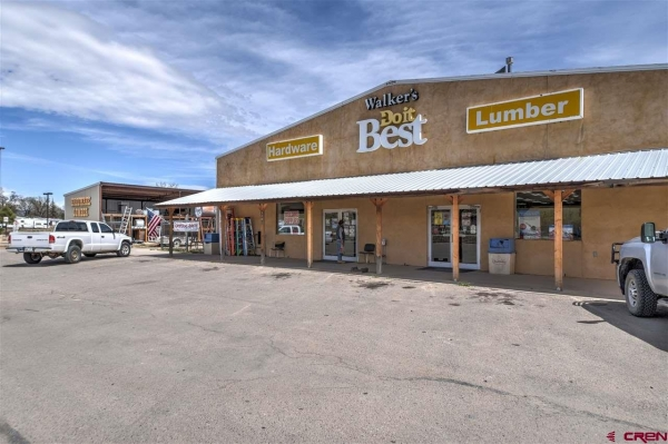 Listing Image #1 - Industrial for sale at 1100 Goddard Avenue (Hardware Store), Ignacio CO 81137