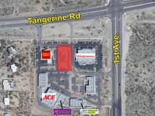 Listing Image #1 - Retail for sale at SWC of First Ave. & Tangerine Rd., Oro Valley, AZ, Tucson AZ 85713