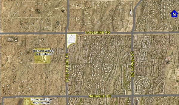 Listing Image #1 - Retail for sale at SEC of Tangerine Rd & La Cholla Blvd, Oro Valley AZ 85755